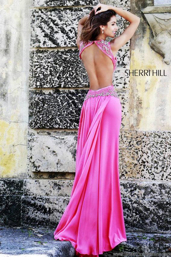 Sherri Hill 11158 coral