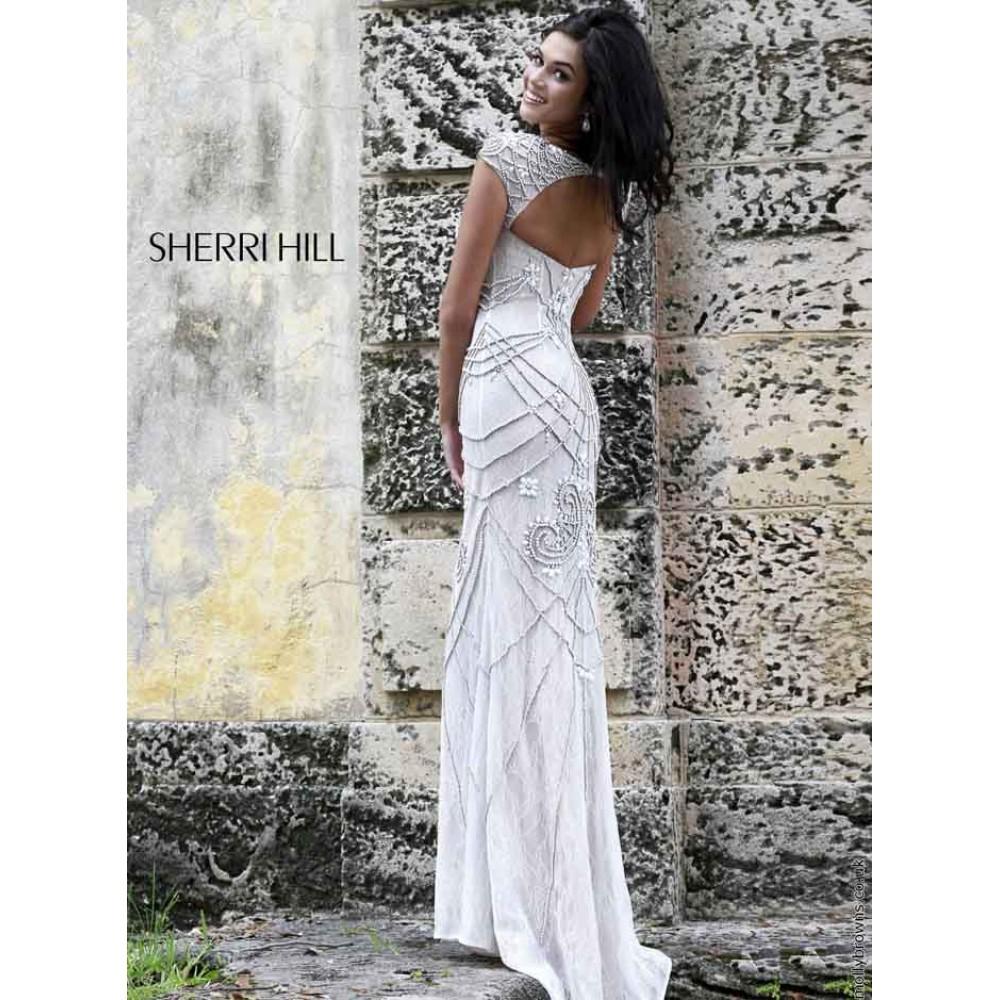 Sherri Hill 11180 ivory/nude