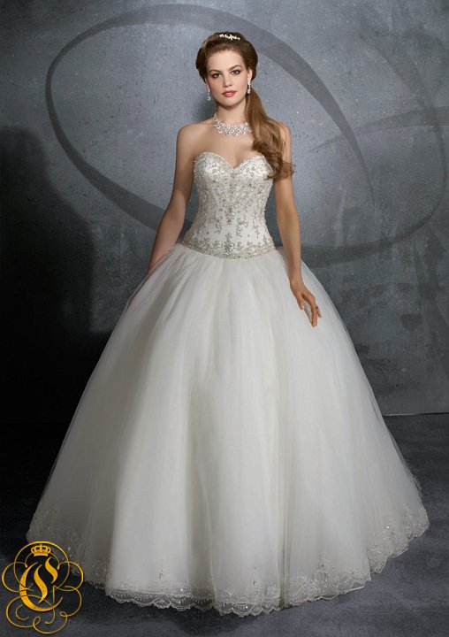 2914 EMBROIDERYON TULLE
