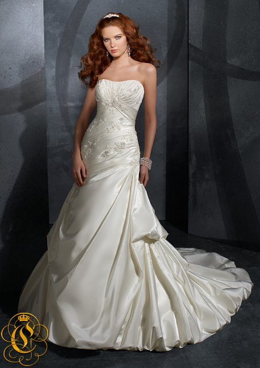 Venčanica  MORI LEE - 4707 SATIN FACED