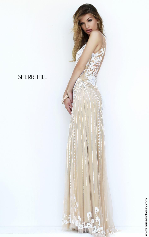 Sherri Hill 9737 ivory
