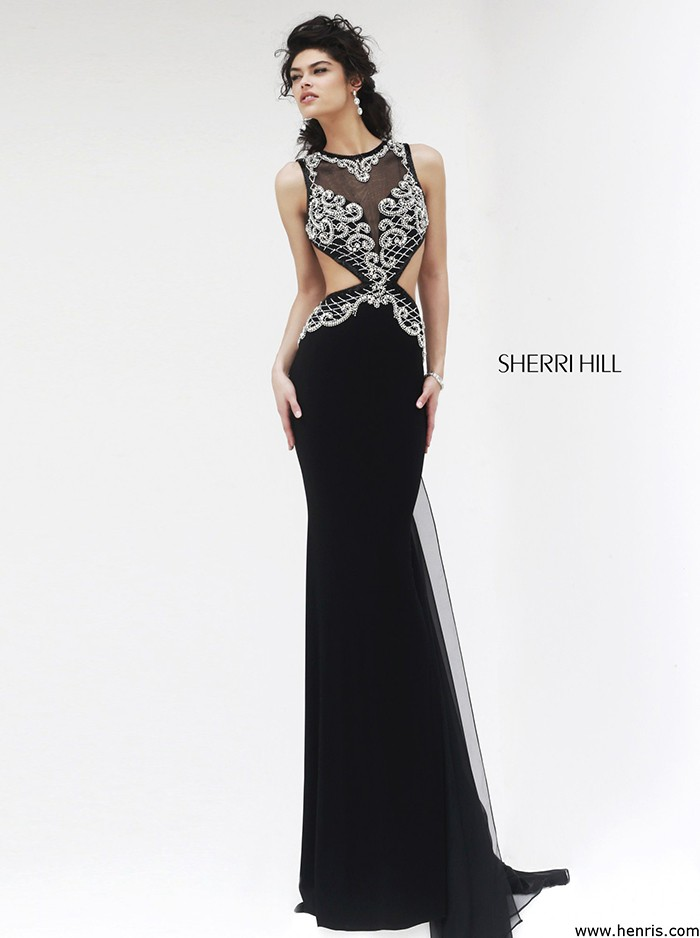 Sherri Hill 11158 black/silver