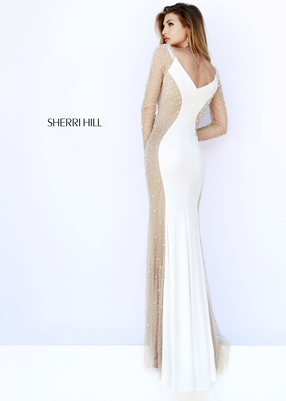 Sherri Hill 32096 ivory/nude