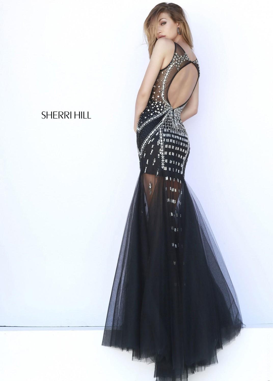 Sherri Hill 9736 black