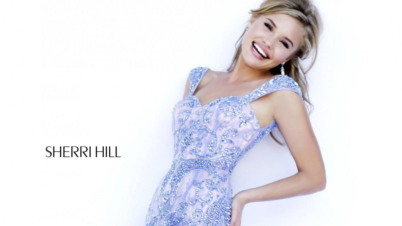 Sherri Hill 9742 periwinkle