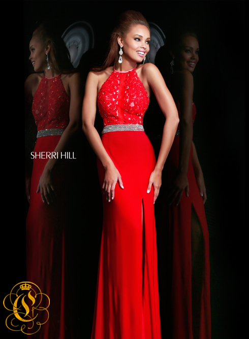 Sherri Hill 21210 red