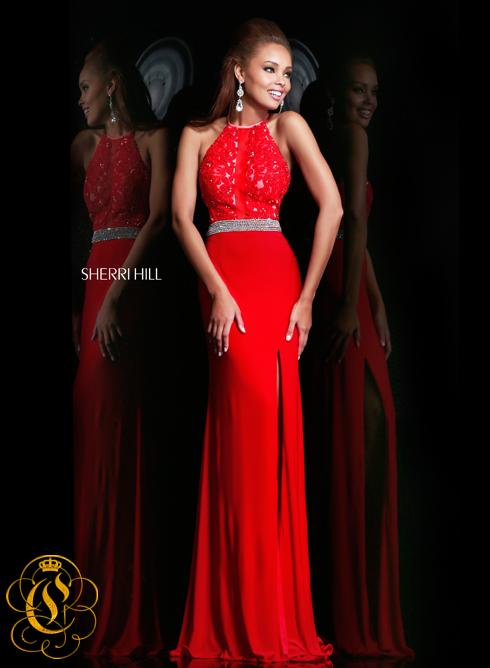 Sherri Hill 21210 red