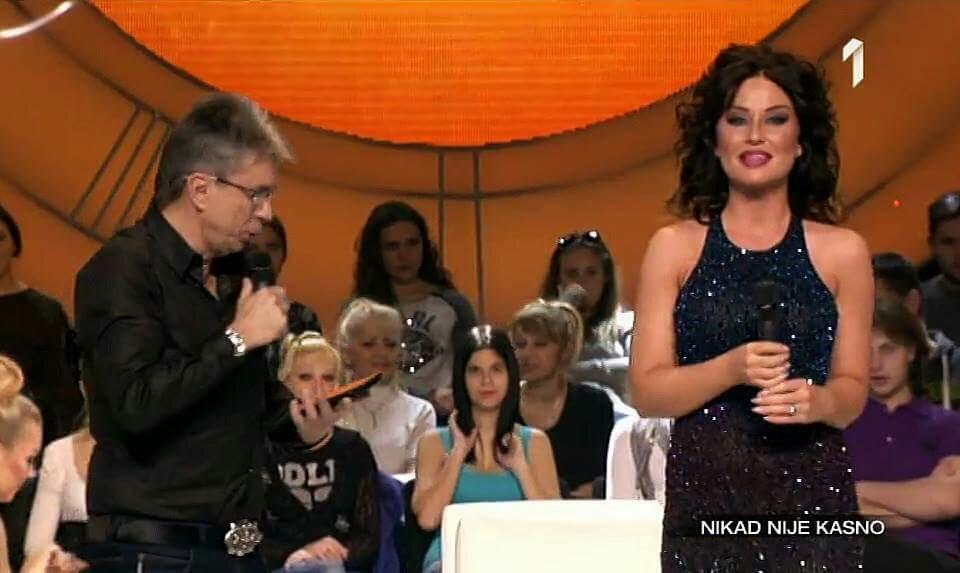 Katarina Zivkovic u nasoj haljini sherri hill-32272